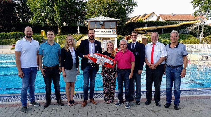 Spendenübergabe 24-Stunden-Schwimmen 2019